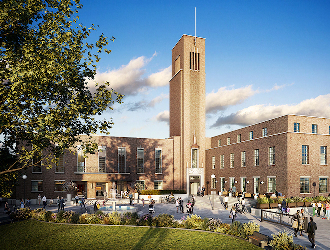 Live in a London landmark – Far East Consortium launch iconic Hornsey Town Hall development