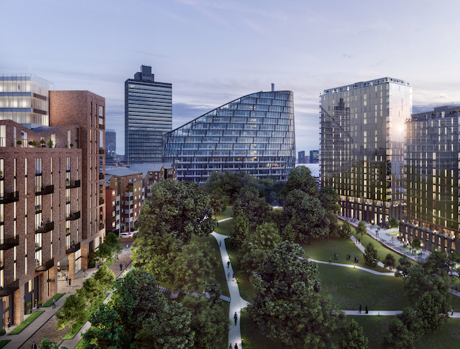 Far East Consortium invites potential residents to reveal of Mount Yard apartments and townhouses at MeadowSide, central Manchester