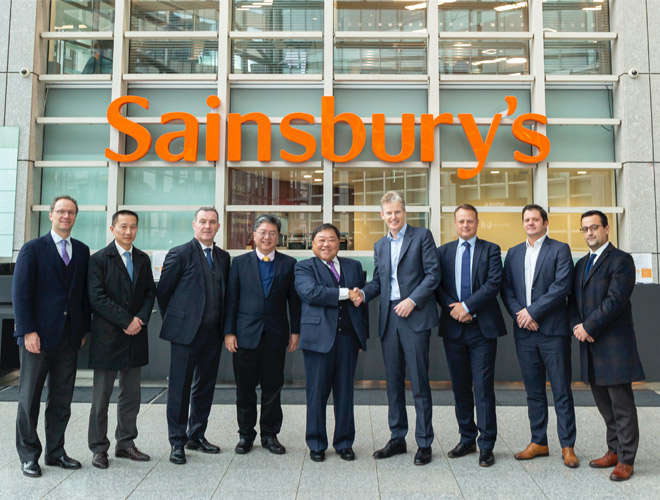 SAINSBURY'S AND FAR EAST CONSORTIUM ANNOUNCE PARTNERSHIPTO REDEVELOP WHITECHAPEL SQUARE IN EAST LONDON - FEC