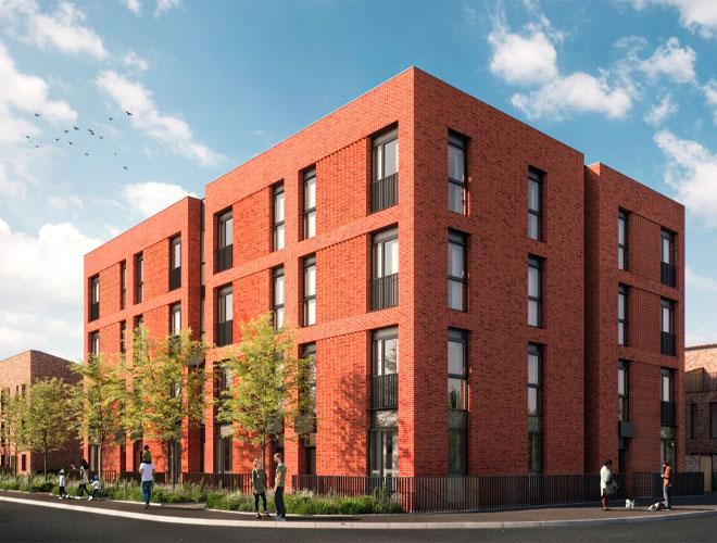 Victoria North: Plans Submitted To Build 30 New Social Homes In South Collyhurst - FEC